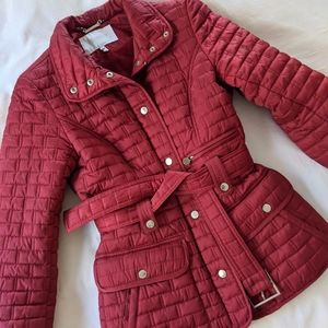 EUC Laundry by Shelli Segal quilted puffer jacket